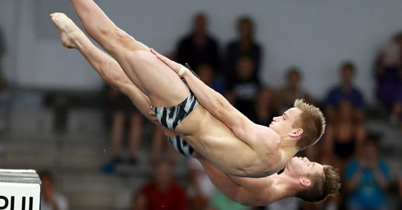 Steele Johnson and David Boudia Have Faith in Their Diving