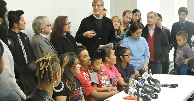 'Sanctuary Churches' Vow to Shield Immigrants from Trump Crackdown