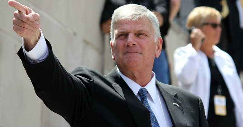 Franklin Graham Has Harsh Words for Transgenders, Says 'Jesus Wasn't Real Loving Sometimes'