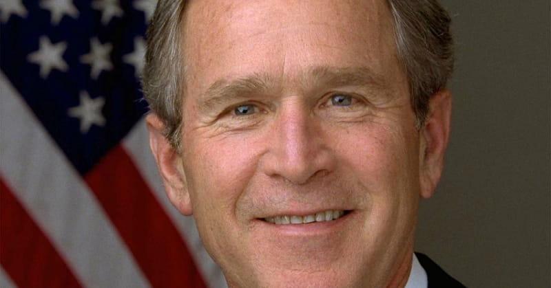 8. George W. Bush