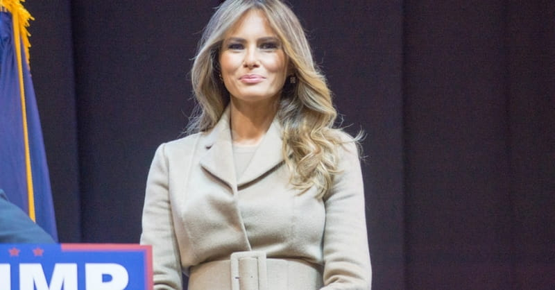 First Lady Melania Trump Harshly Criticized for Recitation of the Lord's Prayer