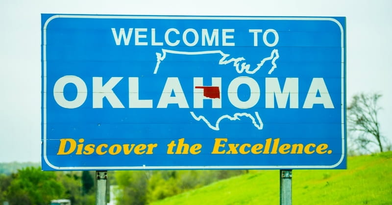 1. And the #1 Pro-life State is....Oklahoma!
