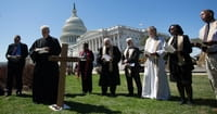 At US Capitol, Christians Protest Budget Cuts
