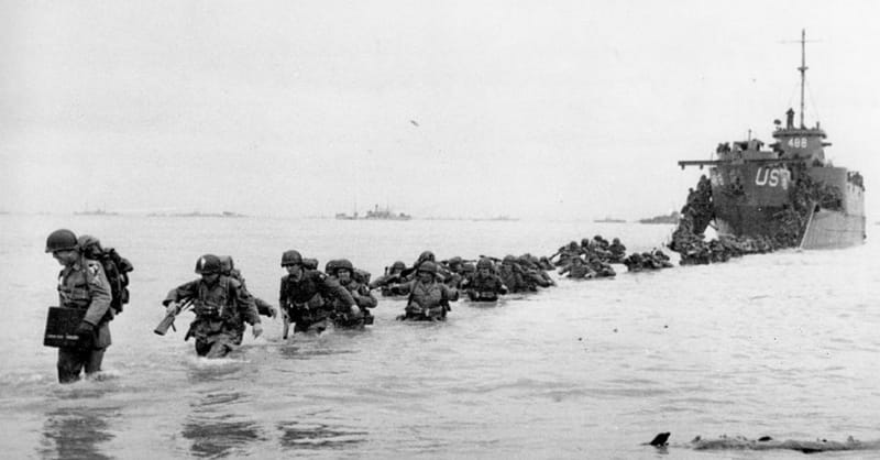 3. How many troops took part in D-Day?