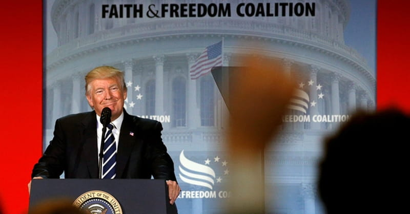 Trump: 'It's Time to Put a Stop to Attacks on Religion'
