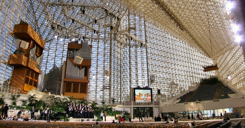 5. Crystal Cathedral