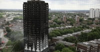 Baby Miraculously Survives London Fire by Being Thrown from 10 Stories and Caught