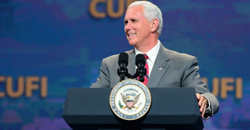 Pence Roots Administration's Support for Israel in Faith