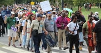 Clergy March in Washington against White Supremacy