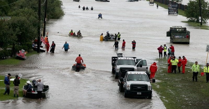 Scientist: Don't Blame Harvey on Global Warming