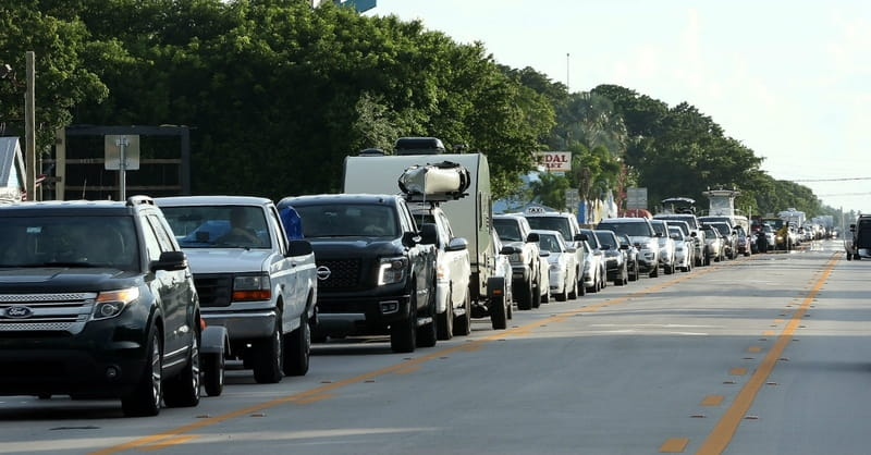 Mass Evacuation in Florida as Catastrophic Hurricane Irma Approaches