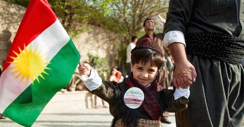Kurdish Father Names Son 'Referendum' to Support Kurdistan Independence
