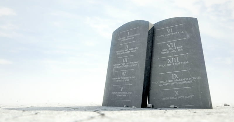 Survey: Most Brits Think These 4 Commandments are No Longer Relevant