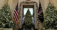 White House Displays Beautiful Nativity Scene with Baby Jesus