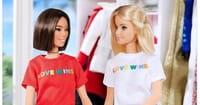 Barbie Dolls Promote LGBT Agenda by Wearing 'Love Wins' Shirts