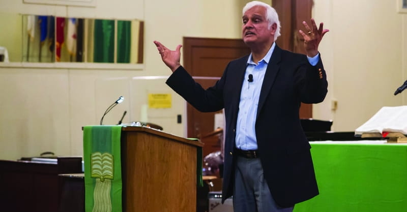 Christian Apologist Ravi Zacharias Responds to Sexting Allegations