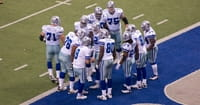 Three Dallas Cowboy Players Get Baptized in Viral Video