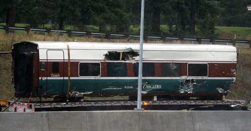 Three Killed and 100 Injured in Washington State Amtrak Derailment