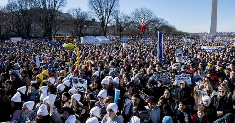 Anti-abortion Democrats Navigate Divide between March for Life and the Women's March