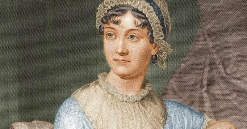 1. Jane Austen
