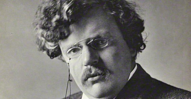 2. G. K. Chesterton