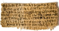 New Technology Enables Reading of Ancient Egyptian Manuscript of Book of Acts