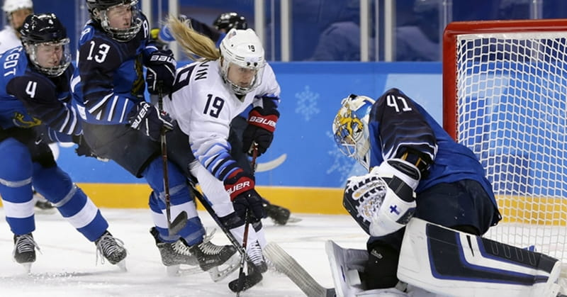 Veteran Team USA Hockey Player Gigi Marvin Wants Gold and God