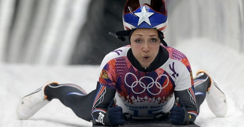 Skeleton Racer Katie Uhlaender Won't Quit — on God or the Olympics