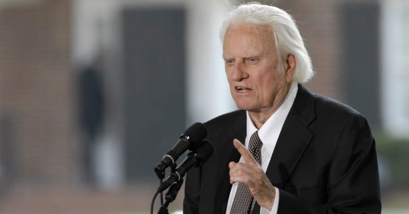 Famed Evangelist the Rev. Billy Graham Dies at Age 99