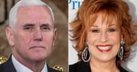 Joy Behar Apologized to Mike Pence for 'Mental Illness' Comment