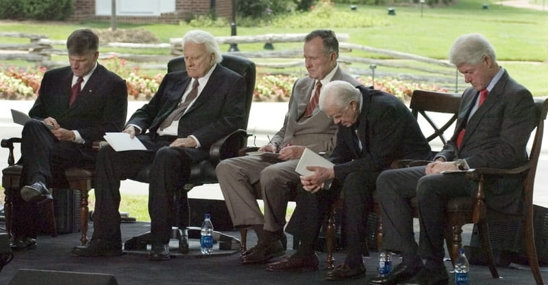 Presidents Pay Tribute to Rev. Billy Graham