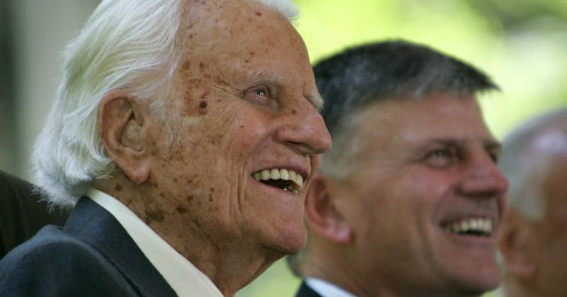Billy Graham is Now 'Celebrating Eternal Life,' Says Son Franklin