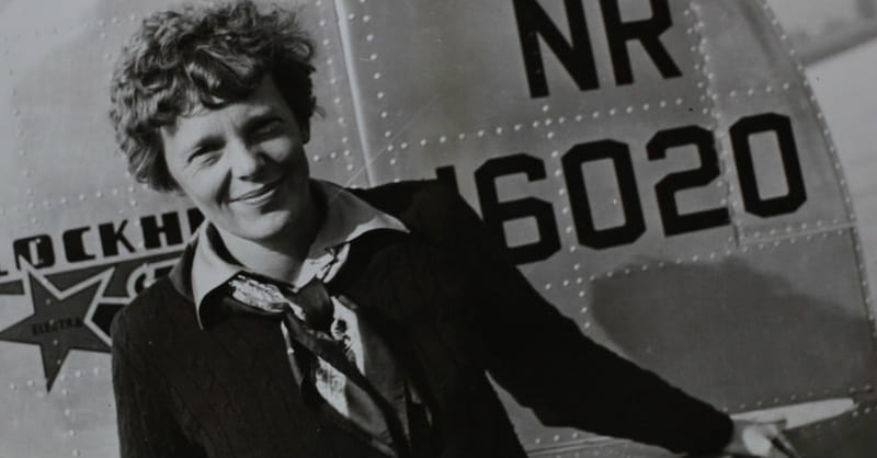 Professor May Have Solved the Amelia Earhart Mystery