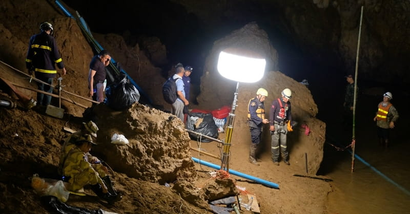 Another Boy Rescued, 8 Still inside Thailand Cave