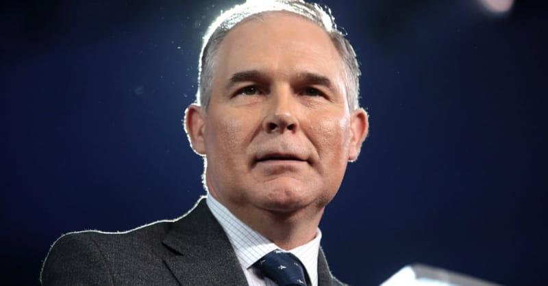 EPA Administrator Scott Pruitt Resigning after 'Unrelenting Attacks'