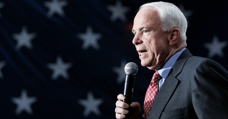 John McCain's Most Singular Trait