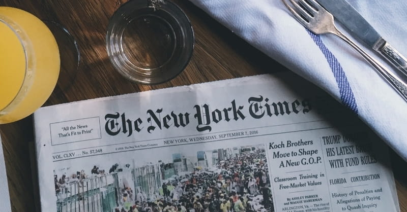 Why Did The New York Times Run an Anonymous Op-Ed?