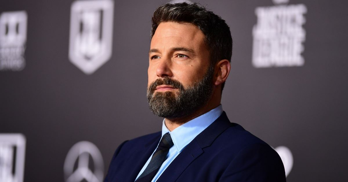 Ben Affleck Turns to God While Recovering from Alcohol Abuse
