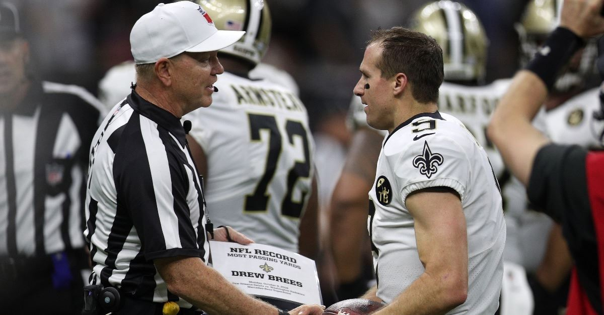 Saints QB Drew Brees Sets NFL Record, Says, 'God Has Equipped Us for Great Works'