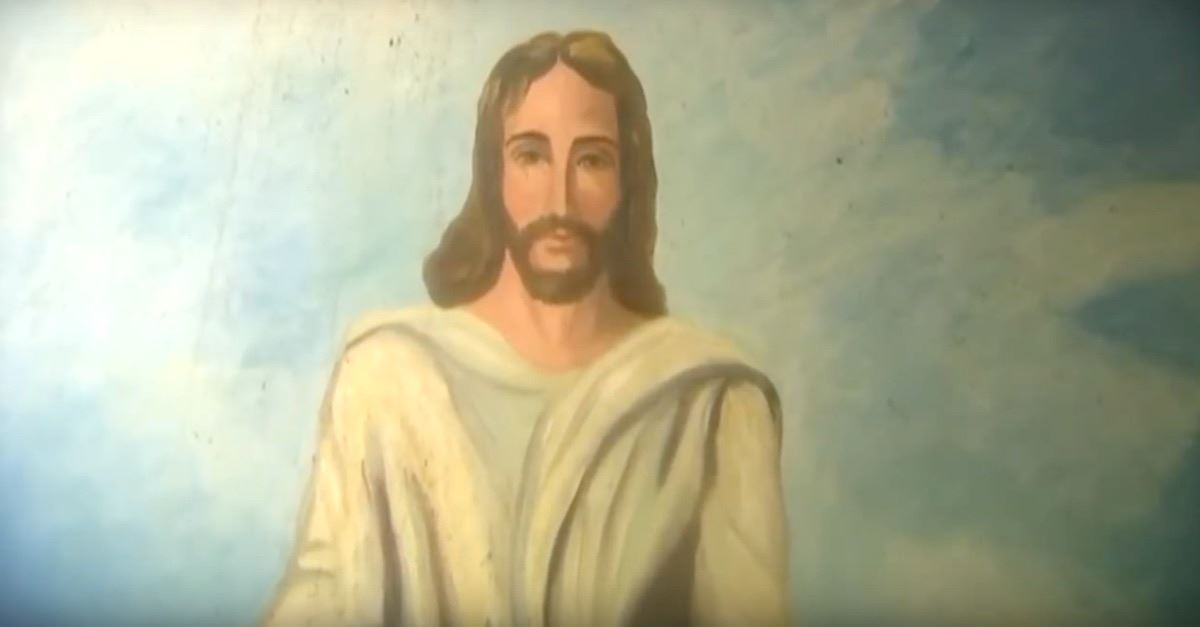 Painting of Jesus Survives Massive Church Fire, Unscathed