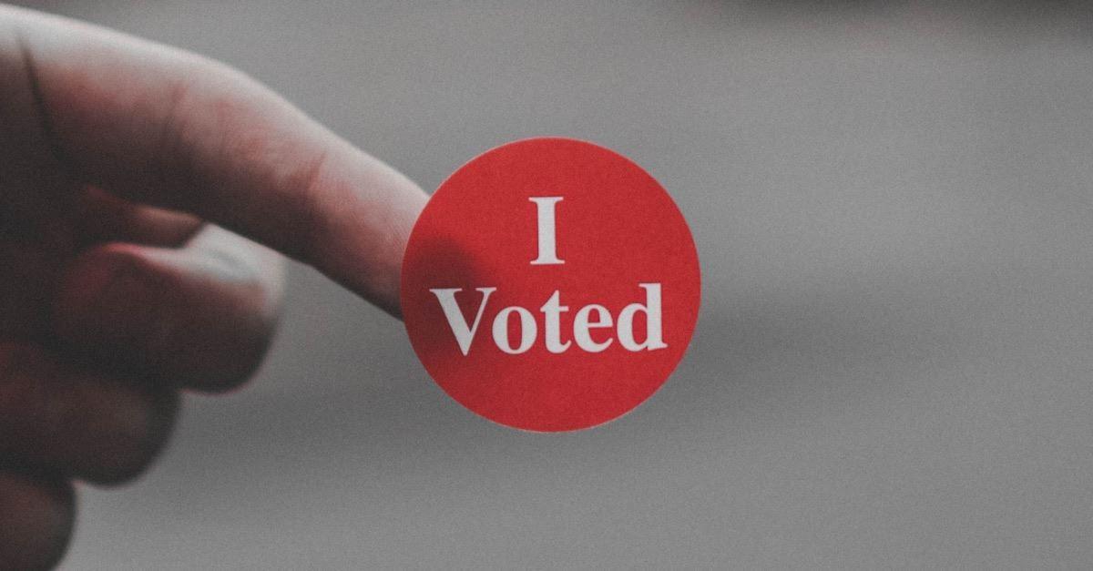 How I Felt When I Voted Yesterday
