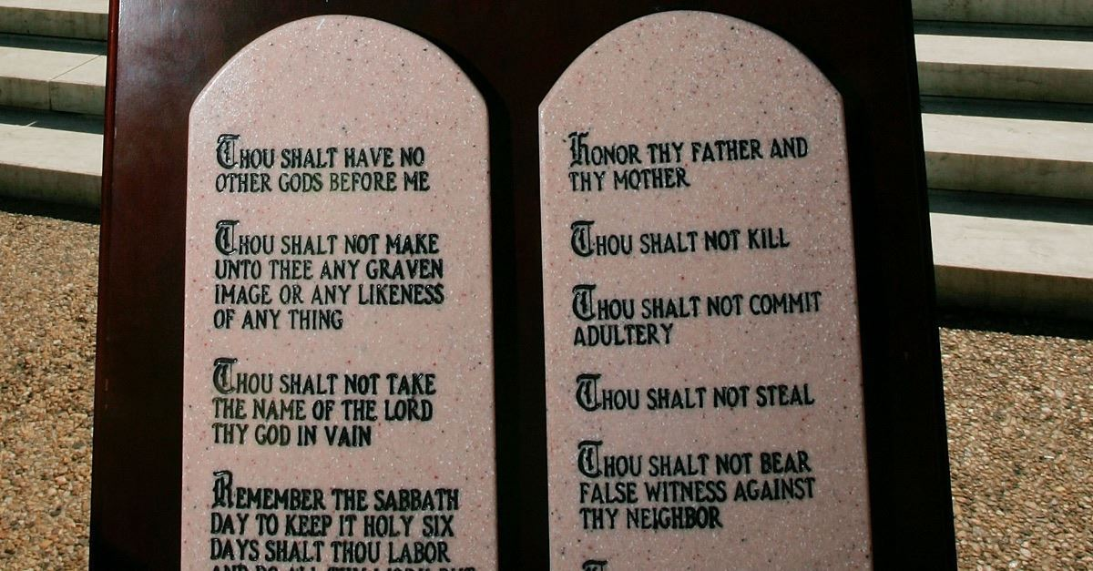 Protection of Ten Commandments Displays Is on Alabama Ballot