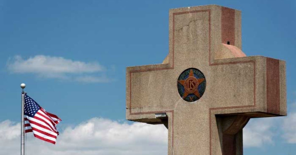 Supreme Court to Consider: Should 93-Year-Old Memorial Cross Be Bulldozed?