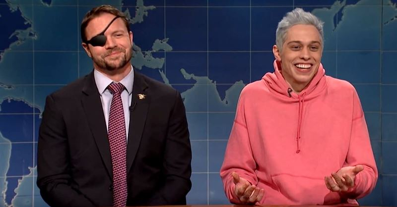 Congressman-Elect Dan Crenshaw Roasts Pete Davidson on <em>Saturday Night Live</em>