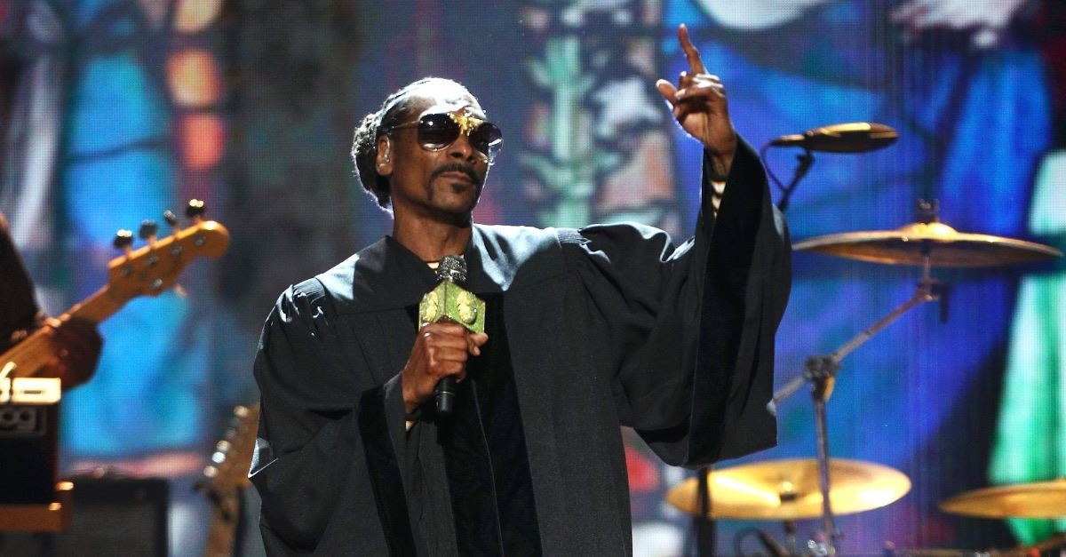 Snoop Dogg Takes the Stage, Tells Story of Redemption