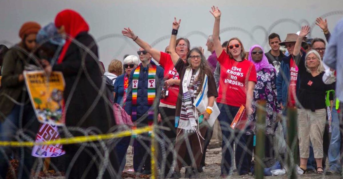 At Least 30 Faith Leaders Arrested in Border Protest