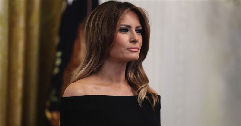 First Lady Melania Trump Takes Part in Toys  for Tots Toy Drive