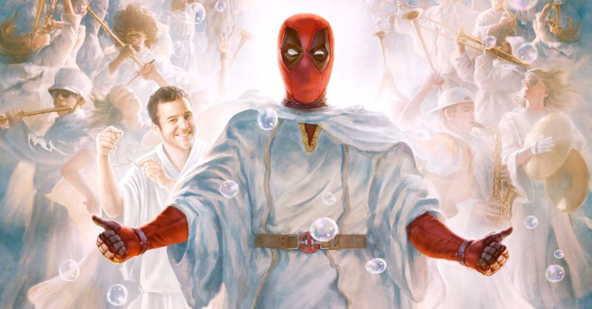 Petition Calls Deadpool/Jesus Poster 'Religious Discrimination'