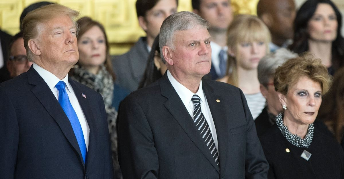 Franklin Graham Calls Out Politicians, Media, Calls them 'Vicious and Relentless'