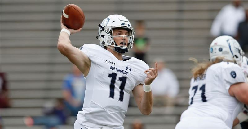 Old Dominion University Star Quarterback Leaves Football to Pursue Ministry